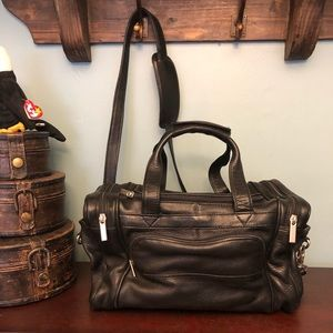 Men's Wilson's leather travel bag
